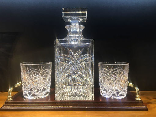 Picture of Whisky Nightcap Set (Pineapple Pattern)