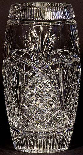 """Picture of 9"""" Pineapple Barrel Vase"""